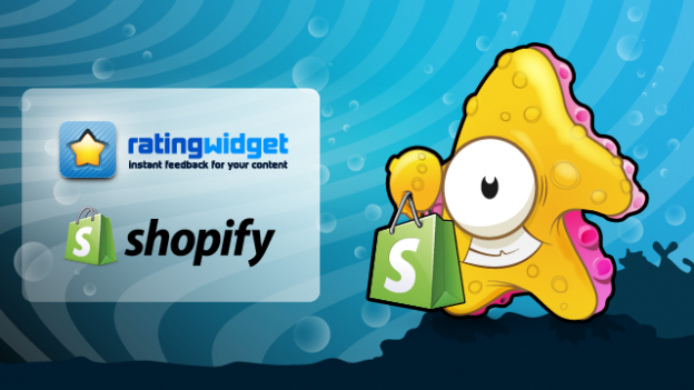 Rating-Widget integrates with Shopify